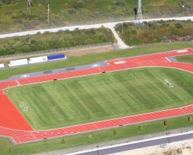Timberland Track - Helicopter Shot
