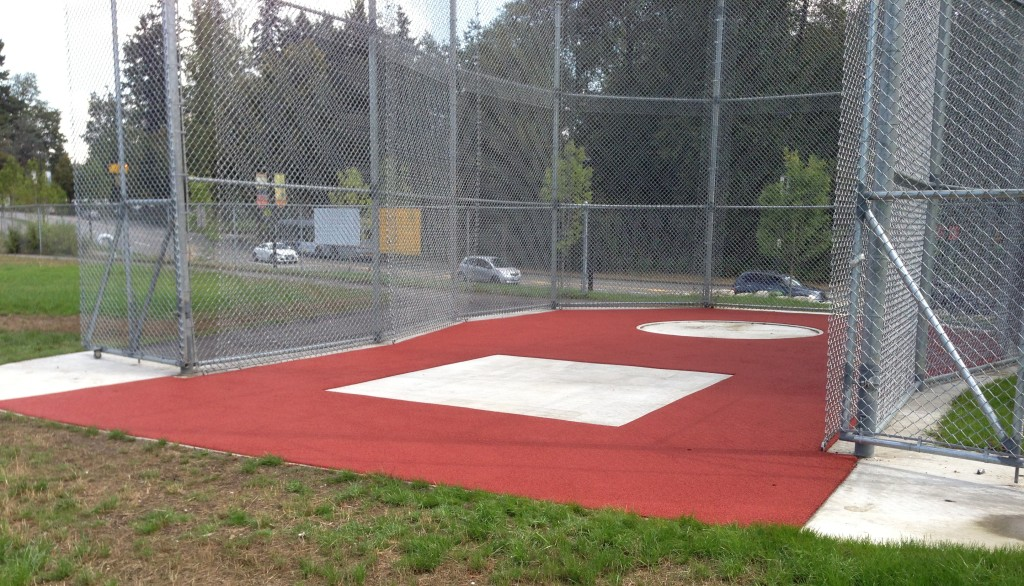 Hammer Throw Cage